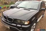 Classic 2002 BMW X5 D SPORT DIESEL BLACK RARE MANUAL GEARBOX for Sale