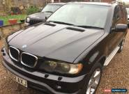 2002 BMW X5 D SPORT DIESEL BLACK RARE MANUAL GEARBOX for Sale