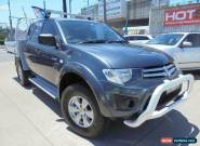 2009 Mitsubishi Triton MN MY10 GL-R Grey Automatic 4sp A 4D Utility for Sale