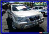 Classic 2003 Nissan X-Trail T30 TI (4x4) Gold Manual 5sp M Wagon for Sale