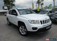 2012 Jeep Compass MK MY12 Sport White Automatic 6sp A Wagon for Sale