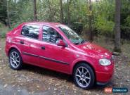 2000 VAUXHALL ASTRA LS 8V RED MOT TILL MAY for Sale