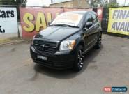 2008 Dodge Caliber Black Manual 5sp M Hatchback for Sale
