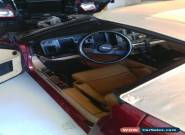1987 Chevrolet Corvette convertible for Sale