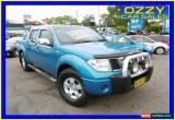 Classic 2007 Nissan Navara D40 ST-X (4x4) Blue Automatic 5sp A Dual Cab Pick-up for Sale