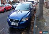 Classic 2010 VOLVO S40 SE LUX D DRIVE BLUE for Sale