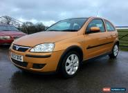2003 VAUXHALL CORSA SXI 1.4 16V TWINPORT for Sale