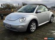 2004 VW Beetle 1.9Tdi 100 Convertible - Full Black Leather - Diesel - July MOT for Sale