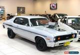 Classic 1973 Chevrolet Nova Silver Automatic A Coupe for Sale