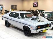 1973 Chevrolet Nova Silver Automatic A Coupe for Sale