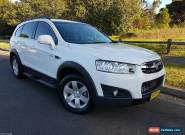 2013 Holden Captiva 7 Seater CX CG Series II Diesel, ( Not Nissan, Toyota, Mazda for Sale