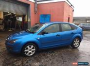 57 plate ford focus 1.8 TDCI diesel running SPARES OR REPAIRS for Sale