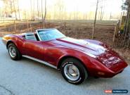 1974 Chevrolet Corvette Convertible for Sale