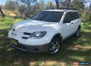 2003 Mitsubishi Outlander ZE LS White Automatic 4sp A Wagon for Sale