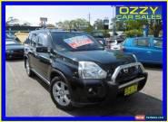 2008 Nissan X-Trail T31 TS (4x4) Black Manual 6sp M Wagon for Sale