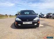 2001 Ford Focus 2.0 16v Zetec ESP black 3dr MOT cambelt done for Sale