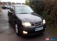 2003 SAAB 9-3 ARC 150 BHP BLACK Only 95k 12m MOT Full Service History Leather!! for Sale