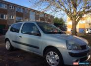2004 RENAULT CLIO EXTREME 3 16V SILVER for Sale