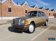 1986 Mercedes-Benz 300-Series Base Sedan 4-Door for Sale