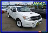Classic 2007 Toyota Hilux KUN16R 07 Upgrade SR White Manual 5sp M Dual Cab Pick-up for Sale