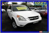 Classic 2002 Honda CR-V MY02 (4x4) Sport White Automatic 4sp A Wagon for Sale