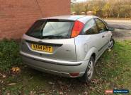 2005 FORD FOCUS ZETEC TDCI SILVER - Good Runner for Sale