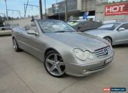 2005 Mercedes-Benz CLK320 A209 MY05 Elegance Grey Automatic 5sp A Cabriolet for Sale