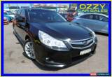 Classic 2012 Subaru Liberty MY12 2.5I Black Automatic A Wagon for Sale
