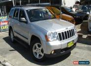 2009 Jeep Grand Cherokee WH MY08 Laredo (4x4) Silver Automatic 5sp A Wagon for Sale