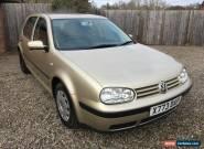 2000 VOLKSWAGEN GOLF SE BEIGE VW 1.6 MK4 IV for Sale