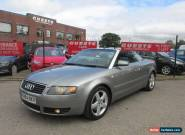 2004 Audi A4 Cabriolet 1.8 T Sport 2dr for Sale