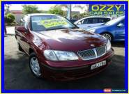 2001 Nissan Pulsar N16 ST Burgundy Automatic 4sp A Sedan for Sale