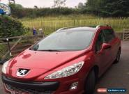 Peugeot 308 SW Red 2.0 HDi - 7 Seater Diesel - 109,000 miles - 2009 - REDUCED!! for Sale