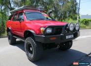 1990 Toyota 4 Runner Red Manual Manual Wagon for Sale