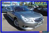Classic 2010 Subaru Liberty MY10 2.5I Silver Continuous Variable Wagon for Sale