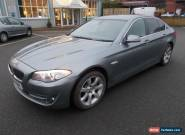 BMW 5 SERIES 2011 GREY 520D 2.0 DIESEL MANUAL - DAMAGED REPAIRABLE SALVAGE for Sale