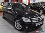 2008 08 MERCEDES-BENZ C CLASS 2.1 C220 CDI SPORT 4D AUTO 168 BHP DIESEL for Sale