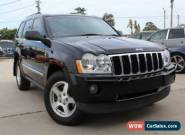 2008 Jeep Grand Cherokee WH MY08 Limited (4x4) Black Automatic 5sp A Wagon for Sale