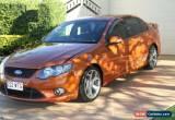 Classic 2010 Ford Falcon FG XR6 50th Anniversary Sunburst Orange Automatic 6sp A Sedan for Sale