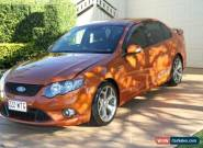 2010 Ford Falcon FG XR6 50th Anniversary Sunburst Orange Automatic 6sp A Sedan for Sale