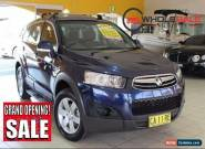 2012 Holden Captiva CG Series II MY12 7 SX Dark Blue Automatic A Wagon for Sale