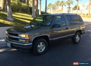 1999 Chevrolet Tahoe Base Sport Utility 2-Door for Sale