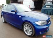 2007 BMW 118D M SPORT BLUE for Sale