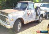 Classic 1972 Chevrolet C-10 Base for Sale