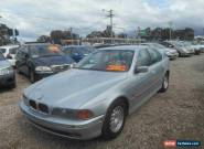 1998 BMW 523I E39 23i Silver Automatic 5sp A Sedan for Sale