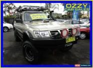 2003 Nissan Patrol GU III ST (4x4) Gold Automatic 4sp A Wagon for Sale