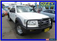 2008 Ford Ranger PJ 07 Upgrade XL (4x4) White Manual 5sp Manual for Sale