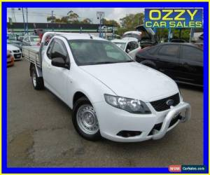 Classic 2009 Ford Falcon FG White Automatic 5sp Auto Seq Sportshift Cab Chassis for Sale