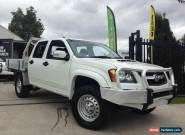 2009 Holden Colorado RC MY10 LX (4x4) White Manual 5sp M Crewcab for Sale