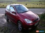 2003 FORD FOCUS 3 DOOR, 1.8 Ltr ZETEC SALOON CAR Spares or repairs long MOT for Sale
